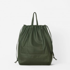 Oversize Airy Bag. Green