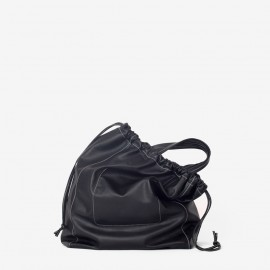 Oversize Airy Bag. Black