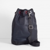 B14 BUCKET-BAG. NAVY & BLACK